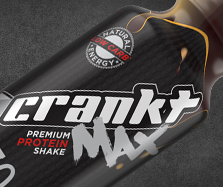 Crankt Max Protein Shakes